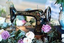 Machines à coudre - Sewing machine / Sélection par Mercerie Caréfil machine à coudre vintage et moderne http://www.merceriecarefil.com/fr/