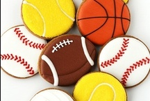 Iced biscuits - sports and music
