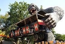 King Kong - Bobbejaanland (Belgique) / Photos de l'attraction King Kong située à Bobbejaanland (Belgique). Plus d'information sur notre site http://www.e-coasters.com !! Tous les meilleurs Parcs d'Attractions sur un seul site web !!