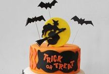 Halloween - Cakes / Halloween cakes - some funny and some scary - but all delicious!  The really gross, scary cakes are further down the page....didn't want to scare little ones!   / by Therese Scribner