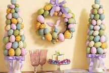 Easter - Decorations / All kinds of wonderful decorations for Easter! / by Therese Scribner