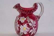 Fenton Glass / Beautiful glass from the Fenton Company / by Therese Scribner