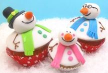 Christmas - Cupcakes / A huge variety of  beautiful Christmas cupcakes! / by Therese Scribner