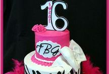 Cakes - 16th Birthday / by Therese Scribner