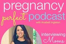 Pregnancy Perfect Podcast / Pregnancy Perfect Podcast interviews new moms and more seasoned moms that offer tips and information about their own personal #9monthmarathon! | www.pregnancyperfect.com