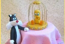 Cakes - Tweety & Sylvester / by Therese Scribner