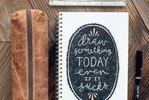 Sketchbooks / Inspiring sketchbook from the world :)