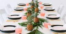 Décoration de table / Les décorations de table sont toujours un casse-tête à faire! Mais avec cette sélection pas de panique! Que se soit pour Noêl, un mariage, un baptême, une fête; qu'elles soient ou champêtres ou festives, pleins d'idées pour vos décorations de table originales, été comme hiver!