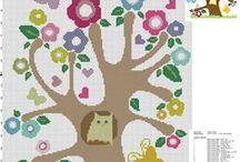 Animali schemi punto croce / Schemi punto croce gratis di animali.