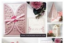 Wedding Themes & Collections by The Cross-Eyed Fox / Original wedding invitations, favour boxes and style inspiration from the bespoke collections at The Cross-Eyed Fox