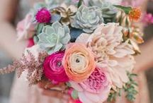 Wedding Floral Designs We Love... / Wedding floral design, bouquets and table decoration inspiration