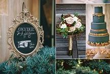 Wedding Colour Schemes We Love / Wedding colour schemes and style inspiration