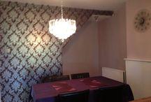 Dining room / Glam dining room