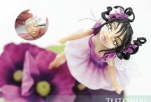 Model it! (Sugar figures) / Figurine  tutorials