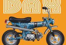 HONDA DAX / Honda st 70