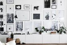 Cadres photos | Gallery Wall / Idées d'agencement pour cadres photos et mises en scène de photos. #cadres #photos #display #DIY