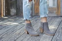 Fall 2015 Booties / It's all about ankle booties this fall! (Bonus if there's FRINGE!)
