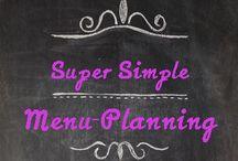 Plan it! / Menu / Meal planning.