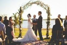 Outdoor Wedding Ceremony / Images and inspiration for wedding ceremonies taking place outside, outdoor weddings