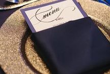 Sparkly Wedding Details / Ideas and inspiration for sparkly wedding details