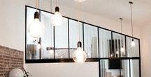 Verrières | Window / Inspiration verrières : séparation en verre, panneau, verrières intérieures sur mesure pour séparer deux pièces, aménagement d'une verrière d'atelier ou loft, châssis pour apporter la lumière dans votre intérieur, vérandas ou toit en verre...