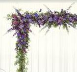 Wedding Ceremony Flowers / Images and inspiration for wedding ceremony flowers