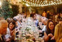 Outdoor Wedding Reception / Ideas and inspiration for outdoor wedding receptions. Outdoor wedding, outdoor reception