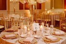 Hotel Wedding Receptions / Images and inspiration from weddings in a hotel ballroom