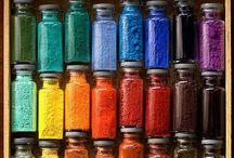 Colour it! / Colour pallets / inspiration