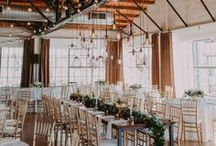 Industrial and Loft Weddings / Ideas and inspiration for weddings taking place in industrial locations, including lofts and warehouses