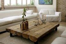 Tables basses I Coffee table / Meuble essentiel du #salon, la table basse adopte tous les styles. En bois, en métal, en verre, elle se fond dans tous les décors.