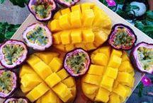 Pretty food.