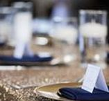 Navy & Gold Wedding / Images and inspiration for weddings using navy and gold colors