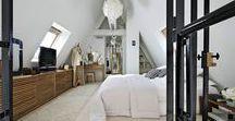 Loft / Les plus beaux intérieurs aménagés dans des lofts ou dans des lieux esprit loft. Des espaces lumineux, du mobilier design ou de récupération et des matières brutes.