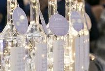 Starry night wedding inspiration | Under the stars wedding / Starry Night wedding ideas, create a romantic atmosphere indoors and outdoors with rich deep blue tones, creative lighting and a touch of sparkle.
