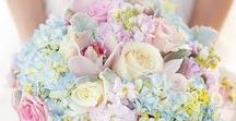 Pretty Pastel Tone Wedding Inspiration / Whimsical pastel tone wedding ideas, trending for 2017. Using soft colours to add a fresh and playful wedding style.