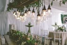 Drop decor & Suspended Centrepiece wedding inspiration, Floral chandeliers, Floral Installations / Wedding trend ideas to create a vertical impact, making dramatic use of the visual space above your guest table.