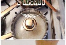 RECEPTY / Inspirace do kuchyně - Uvařit, ohromit, vychutnat.