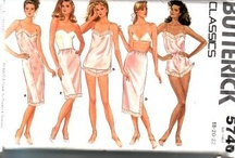 Lingerie, swimsuits, purses sewing patterns