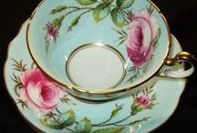 Teacups / Teacups, Tea Trios and Tennis Sets  (Antique, Vintage & New) / by Sarah Kulzer