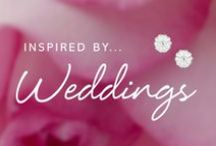 Inspired by Weddings / Everything about weddings, from our gorgeous jewellery, to wedding dresses to DIY wedding ideas