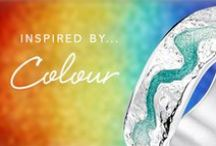 Inspired by Colour / Our vibrant enamels come in a myriad of hues- complete the perfect outfit!