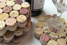 Créativité > Bouchons de vin / idées créatives à partir de bouchons de vin - creative ideas with wine corks