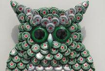 Créativité > Capsules bière / idées créatives avec des capsules de bière - creative ideas with beer caps