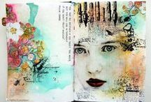 Mixed Media Place Art Journals