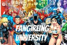 Fangirling University / Welcome to FANG U :) {fandom and rp board} no trigger posts, no spam, no chainmail, no political (ask me for Christian and GSA board) no hate (includes jb and 1D), no drama and no religious posts :) | fandom of the month: DC / by Lᴀᴄᴇʏ Qᴜᴇᴇɴ ᴏғ Dɪsɴᴇʏ 》 .
