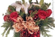 Christmas Flowers / Christmas Flower Arrangement For Delivery By Everyday Flowers.