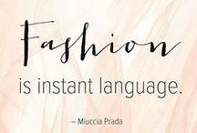 Hello Fashion / Let's share everything about fashion!!!!