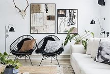 Home Deco & Design / Modern Scandinavian Interiors with a Twist of Vintage