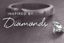 Inspired by Diamonds / Sparkling diamond jewellery from Sheila Fleet